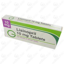 Lisinopril 2.5mg x 84